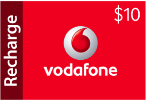 Vodafone $10 Recharge for 650 Points at Rewards Central