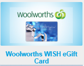 Get a $30 Woolworths WISH eGift Card at Nine Rewards