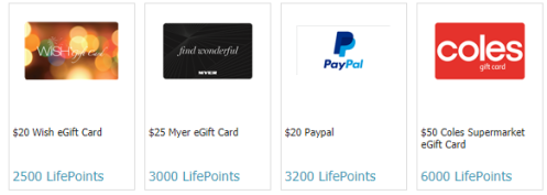 GlobalTestMarket LifePoints Rewards