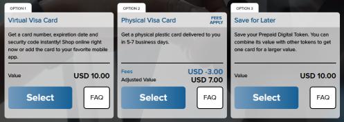 Prepaid Visa Options