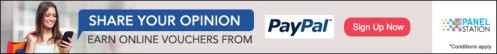 Give your opinion at The Panel Station Australia and earn points towards PayPal Cash.