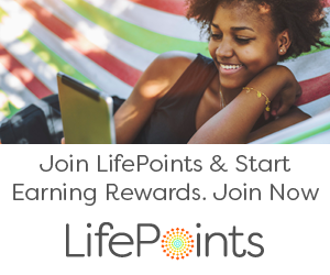 Join LifePoints & Start earning rewards, Join Now